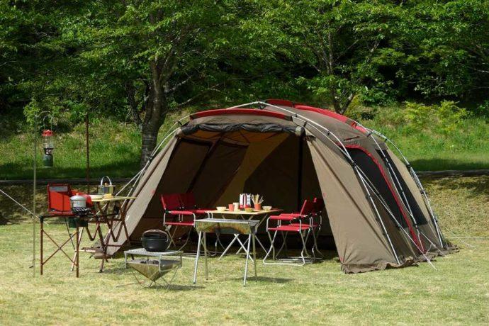 丹波篠山キャンプ場 やまもりサーキットの手ぶらセット(ラグジュアリー)