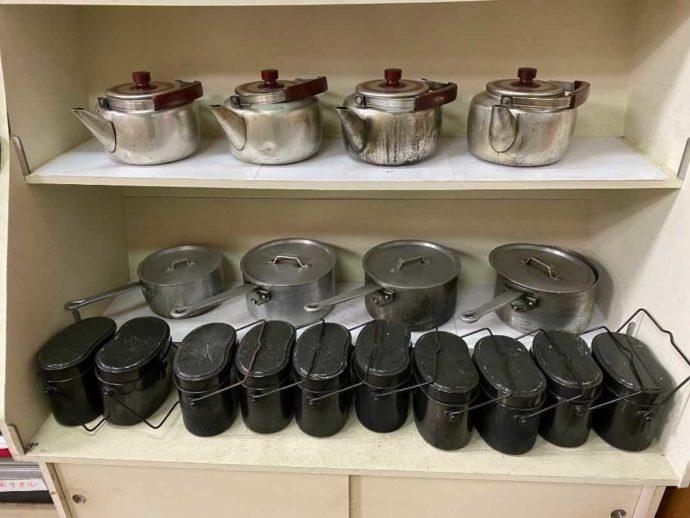 村営山中湖キャンプ場でレンタル可能な調理器具