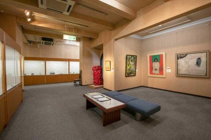 直方谷尾美術館で催されている常設展
