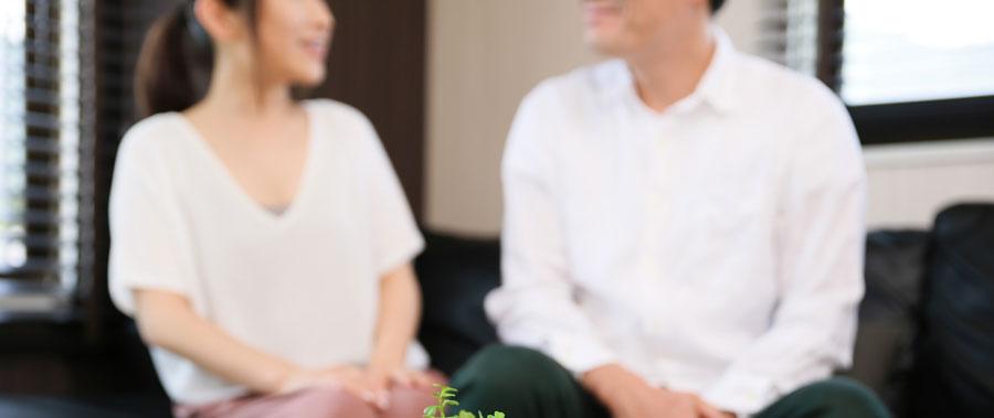 40代で結婚した夫婦のイメージ