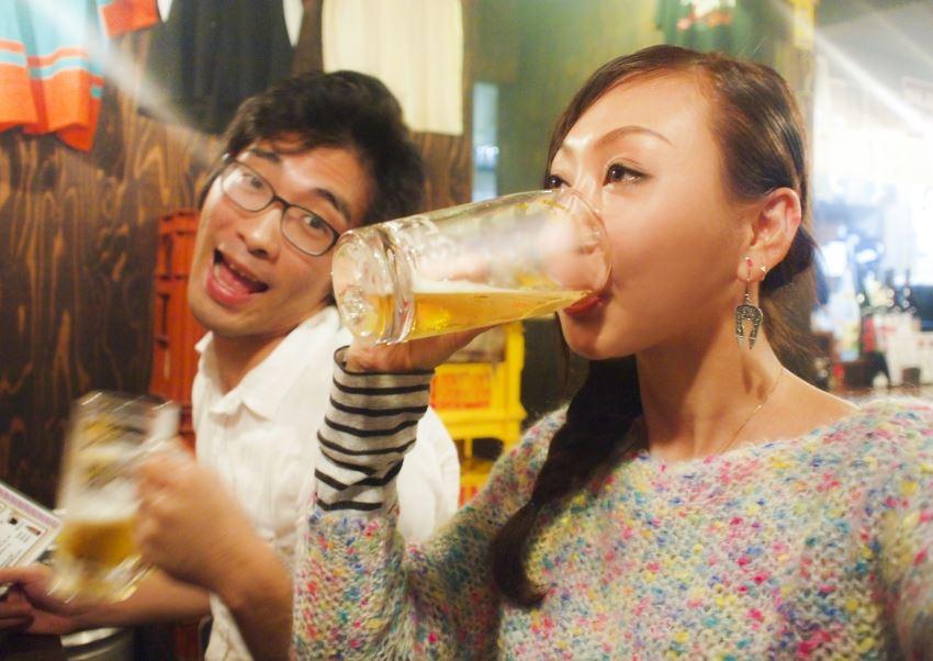 飲酒の写真はプロフィール写真でNG