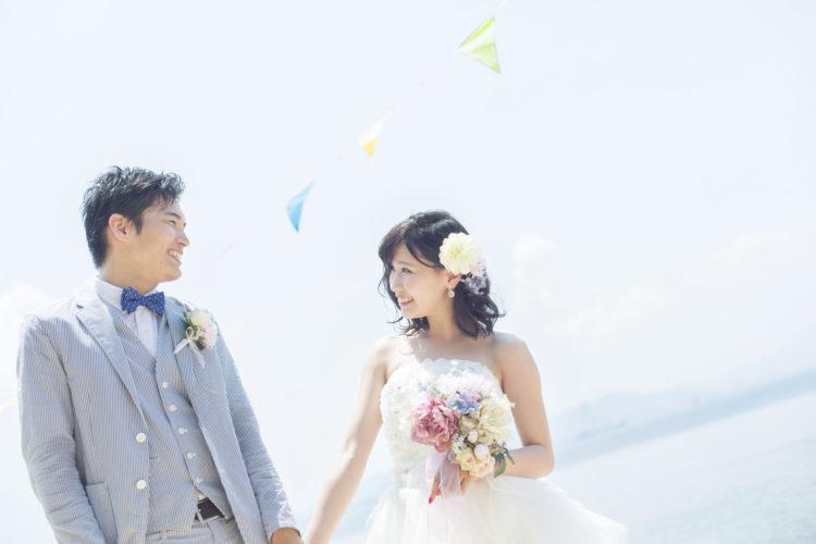 ブライダルハーモニーで成婚したカップルのイメージ