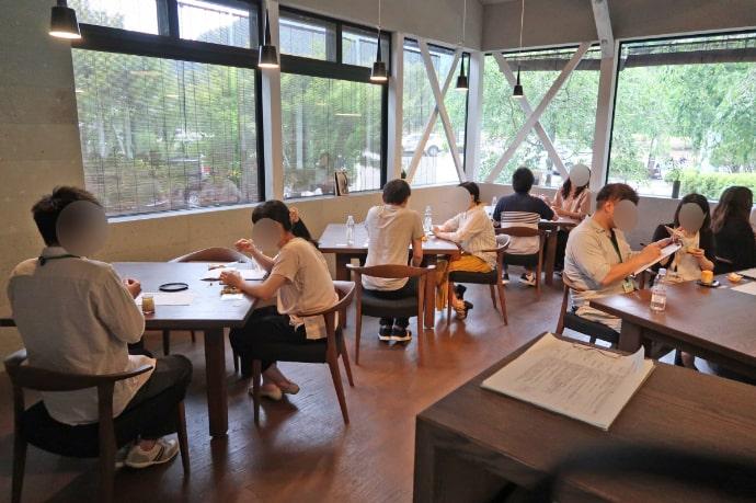 福井市の自治体が運営する婚活スクールの婚活講座の様子