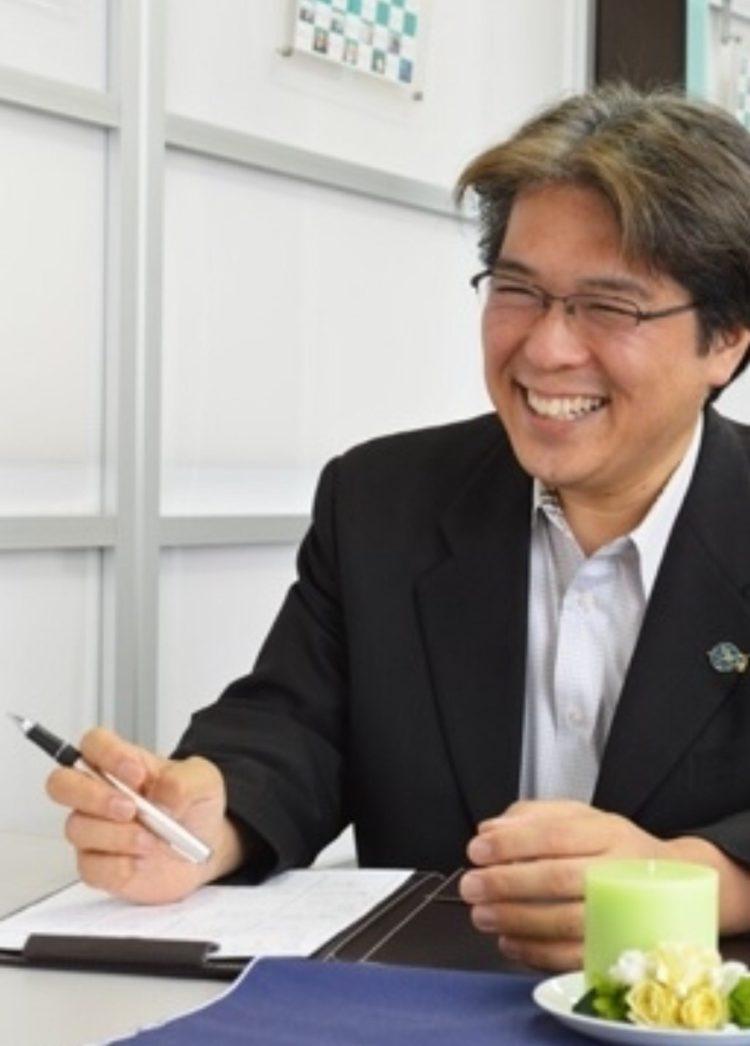 大阪レジェンデの代表仲人である岡崎さん