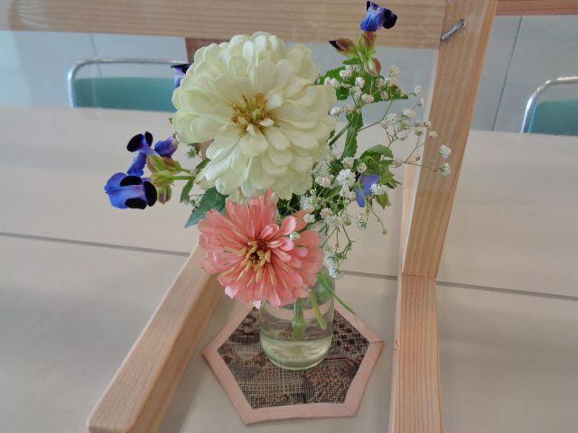 佐倉市結婚支援事業の相談室を彩る装花