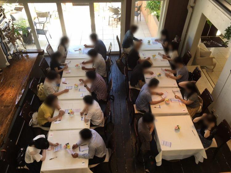 静岡県静岡市で行っている「しずおかエンジェルプロジェクト」の婚活イベントの様子