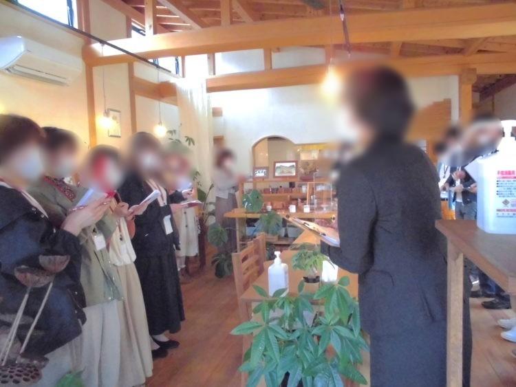 うれしの結婚応援事業所のイベントとして行われたプチ・パーティの様子