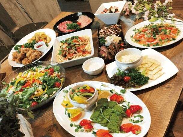 Rootersの恋活パーティーで食べられる料理や飲み物の種類数