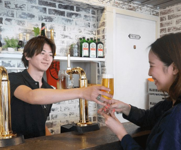 Rootersの恋活パーティーで飲めるドリンクの数