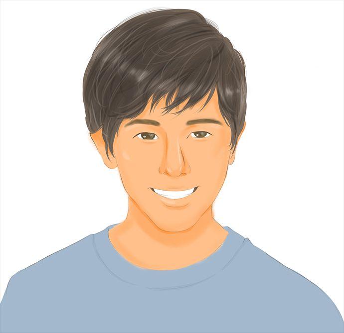 タップルで出会った鈴木福似の男性のイメージ