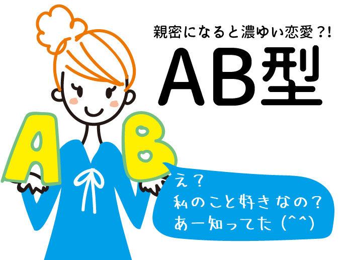 あなたの裏血液型はAB型
