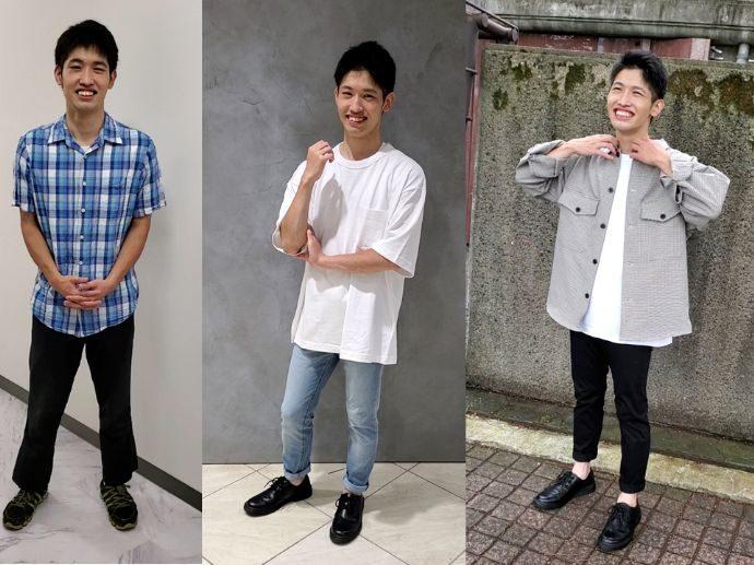 ISTコミュニティの恋活パーティーに参加する男性の服装例