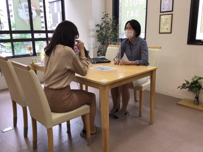 京都縁結び倶楽部で実施されているコロナ対策について