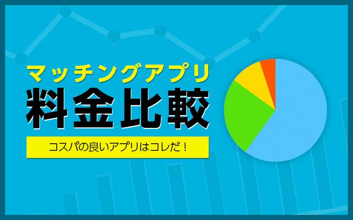 マッチングアプリ料金比較〜コスパの良いアプリはコレだ!〜