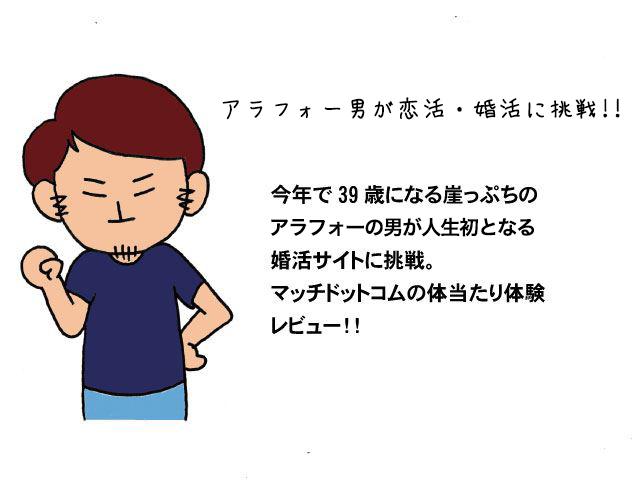 アラフォーブサメンが恋活・婚活に挑戦キャッチアップ