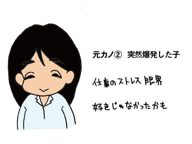 ブサメンの元カノ②地雷さん