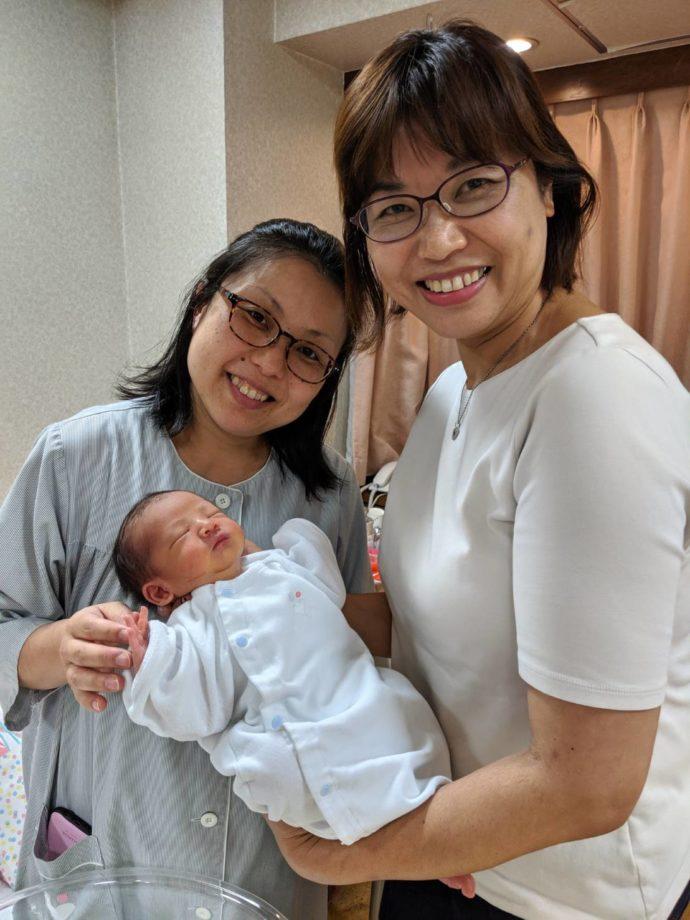 もりコンカップルから誕生した赤ちゃん
