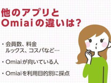 Omiai対ペアーズ・タップル誕生・・婚活アプリを徹底比較!