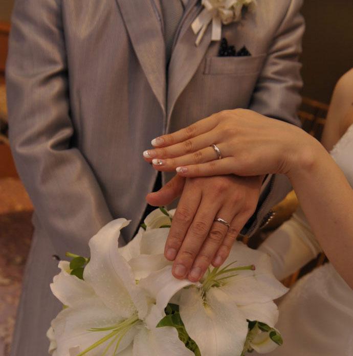 結婚相談所のオーネットで出会った超ハイスペック旦那との結婚式写真